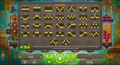 12 Animals Fun Slots by Booongo with 5 Reel and 30 Line