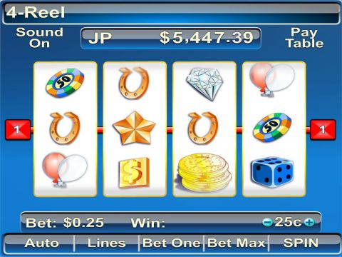 4 Reel Fun Slots by Byworth with 4 Reel and 7 Line