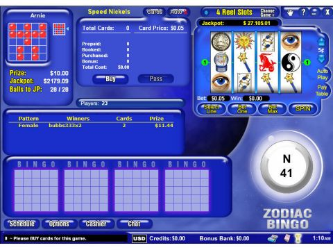 4 Reel Mini Fun Slots by Byworth with 4 Reel and 7 Line