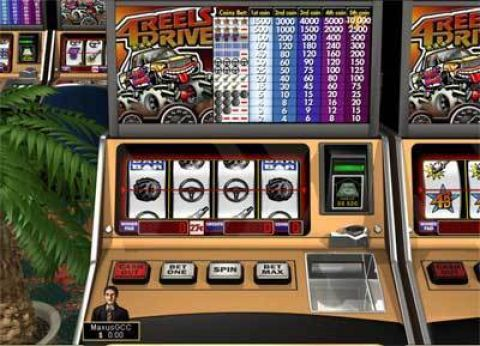 4 Reels Drive Fun Slots by Boss Media with 4 Reel and 1 Line