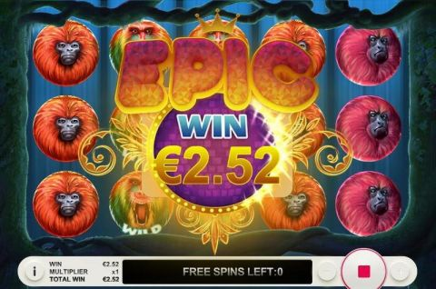7 Monkeys Fun Slots by Topgame with 5 Reel and 7 Line