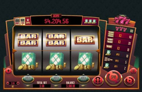 777 Fun Slots by RTG with 3 Reel and 1 Line