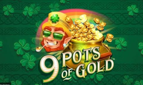 9 Pots of Gold Fun Slots by Microgaming with 5 Reel and 20 Line