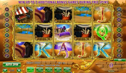Aladdin's Legacy Fun Slots by Amaya with 5 Reel and 20 Line