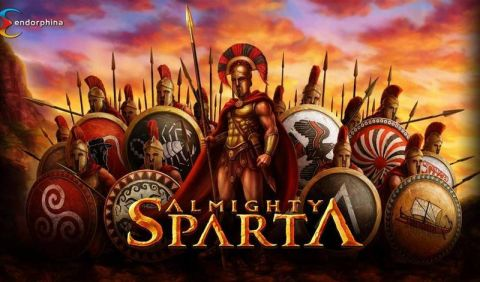 Almighty Sparta Fun Slots by Endorphina with 5 Reel and 10 Line