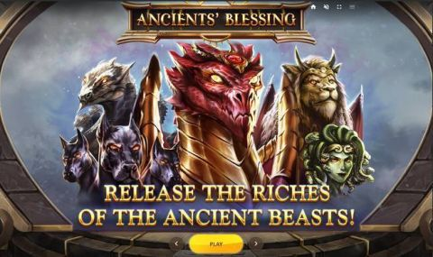 Ancients' Blessing Fun Slots by Red Tiger Gaming with 5 Reel and 30 Line