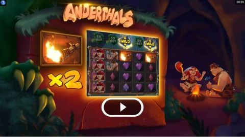 Anderthals Fun Slots by Microgaming with 5 Reel and 40 Line