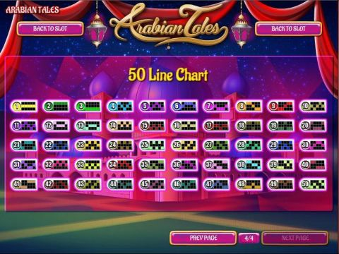 Arabian Tales Fun Slots by Rival with 5 Reel and 50 Line