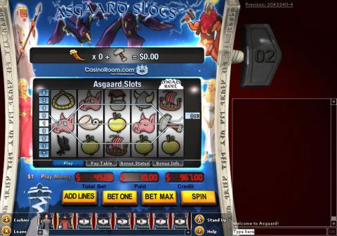 Asgaard Fun Slots by IN DOUBT with 5 Reel and 9 Line