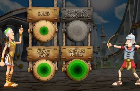 Ave Caesar Fun Slots by Leander Games with 3 Reel and