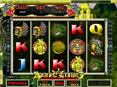 Aztec Ricing Fun Slots by Player Preferred with 5 Reel and 25 Line
