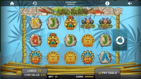 Aztec Secrets Fun Slots by 1x2 Gaming with 5 Reel and 25 Line