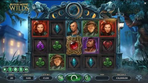 Blood Moon Wilds Fun Slots by Yggdrasil with 5 Reel and 20 Line