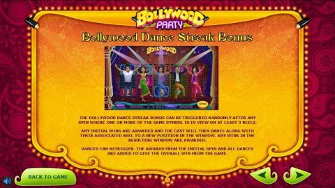Bollywood Party Fun Slots by Sigma Gaming with 5 Reel and 10 Line