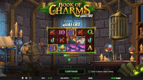 Book of Charms Fun Slots by StakeLogic with 5 Reel and 10 Line