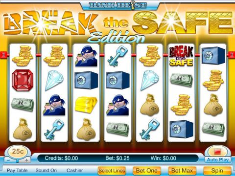 Break the Safe Fun Slots by Byworth with 7 Reel and 10 Line