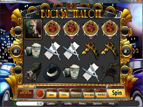 Bucksy Malone Fun Slots by Saucify with 5 Reel and 40 Line