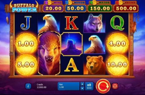 Buffalo Power: Hold and Win Fun Slots by Playson with 5 Reel and 20 Line