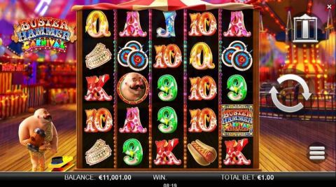 Buster Hammer Carnival Fun Slots by Yggdrasil with 5 Reel and 3125 Way