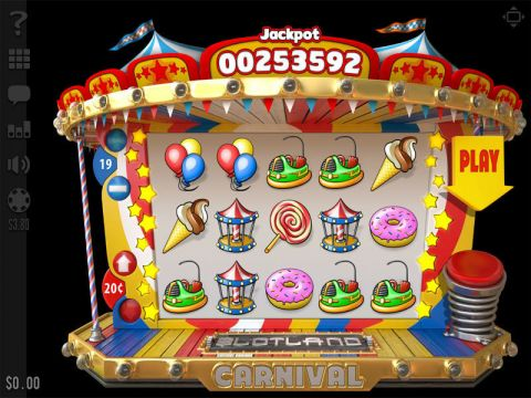 Carnival Fun Slots by Slotland Software with 5 Reel and 19 Line