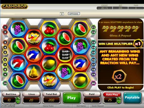 Cash Drop Fun Slots by bwin.party with 5 Reel and 20 Line