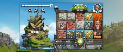 Castle Builder Fun Slots by Microgaming with 5 Reel and 15 Line