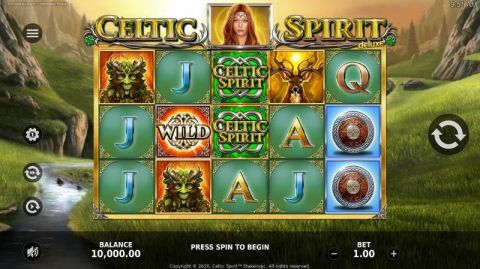 Celtic Spirit Fun Slots by StakeLogic with 5 Reel and 20 Line