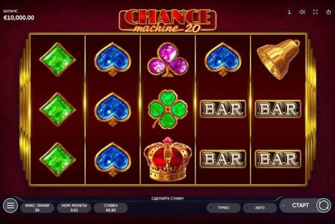 Chance Machine 20 Fun Slots by Endorphina with 5 Reel and 20 Line