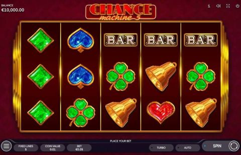 Chance Machine 5 Fun Slots by Endorphina with 5 Reel and 5 Line