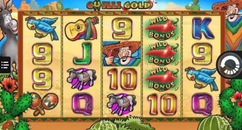 Chilly Gold Fun Slots by NextGen Gaming with 5 Reel and 40 Line