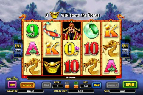 Choy Sun Doa Fun Slots by Aristocrat with 5 Reel and 243 Line