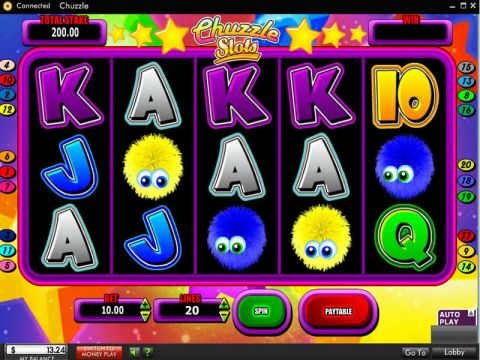 Chuzzle Fun Slots by 888 with 5 Reel and 20 Line