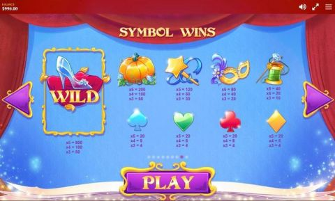 Cinderella Fun Slots by Red Tiger Gaming with 5 Reel and 20 Line