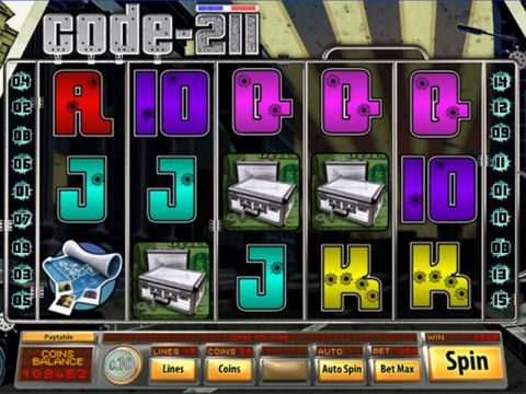 Code 211 Fun Slots by Saucify with 5 Reel and 15 Line