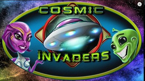 Cosmic Invaders Fun Slots by 2 by 2 Gaming with 5 Reel and 30 Line