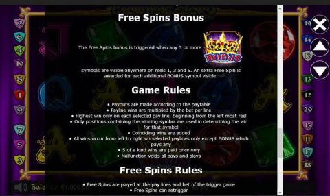 Crowning Glory Fun Slots by Betdigital with 5 Reel and 20 Line