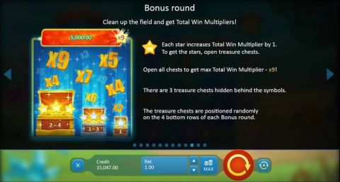 Crystal Land Fun Slots by Playson with 7 Reel and