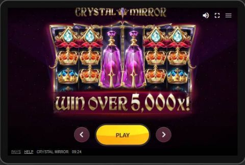 Crystal Mirror Fun Slots by Red Tiger Gaming with 6 Reel and 20 Line