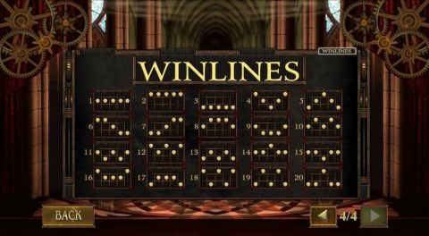 Da Vinci's Vault Fun Slots by PlayTech with 5 Reel and 20 Line