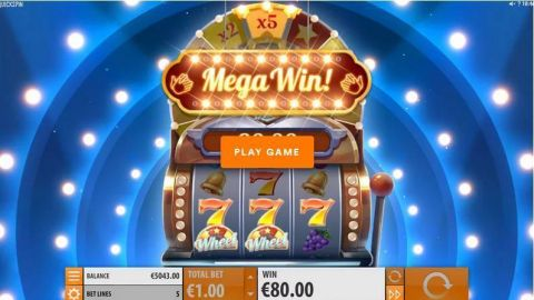 Diamond Duke Fun Slots by Quickspin with 3 Reel and