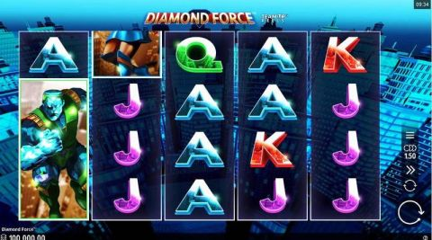 Diamond Force Fun Slots by Microgaming with 5 Reel and 1024 Way