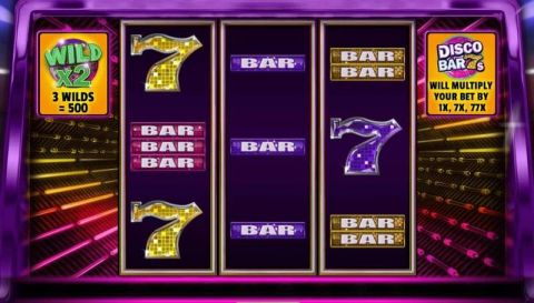 Disco Bar 7s Fun Slots by Booming Games with 3 Reel and 20 Line