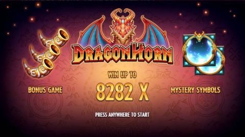 Dragon Horn Fun Slots by Thunderkick with 5 Reel and 243 Line