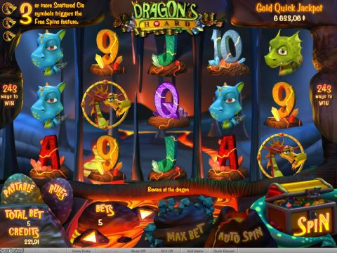 Dragon's Hoard Fun Slots by bwin.party with 5 Reel and 243 Line