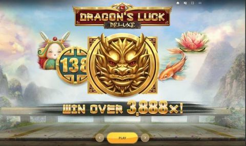 Dragon's Luck Deluxe Fun Slots by Red Tiger Gaming with 5 Reel and 20 Line