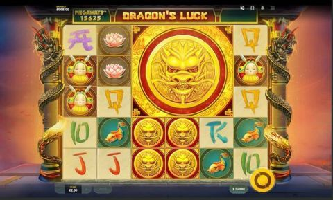 Dragon's Luck MegaWays Fun Slots by Red Tiger Gaming with 6 Reel and 117649 Lines