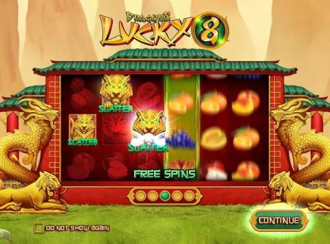 Dragons Lucky 8 Fun Slots by Wazdan with 6 Reel and 20 Line