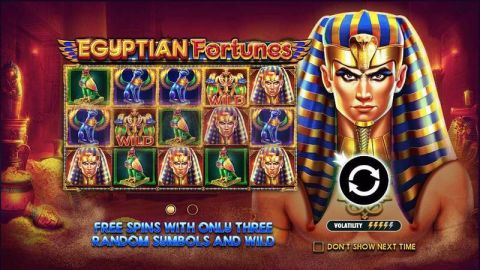 Egyptian Fortunes Fun Slots by Pragmatic Play with 5 Reel and 20 Line