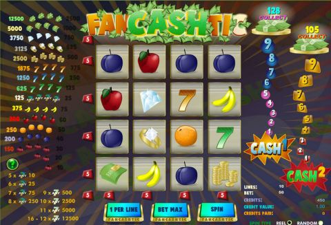 FanCASHtic Fun Slots by Amaya with 16 Reel and 10 Line