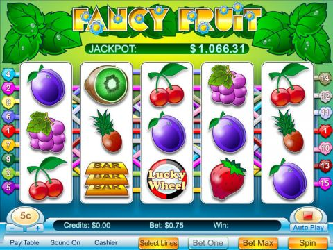 Fancy Fruit Fun Slots by Byworth with 5 Reel and 15 Line